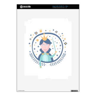 Prince Fairy Tale Character Skins For The iPad 2