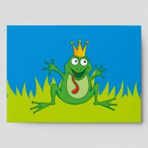 "Prince Frog 7.25"" x 5.25"" Envelope"