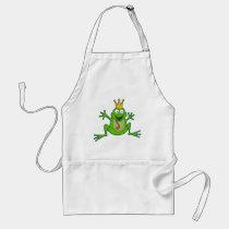 Prince Frog Adult Apron