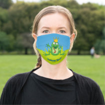 Prince Frog Adult Cloth Face Mask