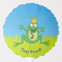 Prince Frog Balloon