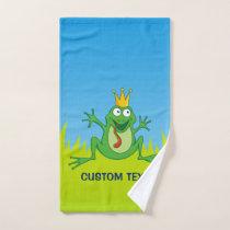 Prince Frog Bath Towel Set