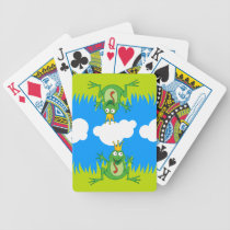 Prince Frog Bicycle Playing Cards