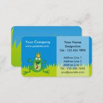 Prince Frog Business Card