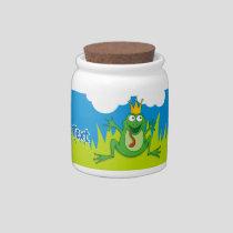 Prince Frog Candy Jar