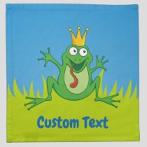 Prince Frog Cloth Napkin