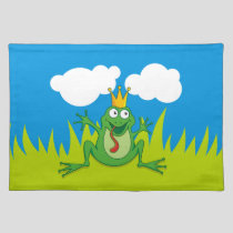 Prince Frog Cloth Placemat