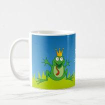 Prince frog coffee mug