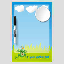 Prince Frog Dry Erase Board With Mirror