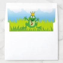 Prince Frog Envelope Liner
