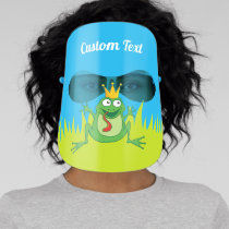 Prince Frog Face Shield