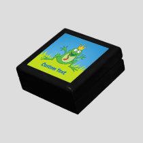 Prince Frog Keepsake Box