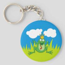 Prince Frog Keychain