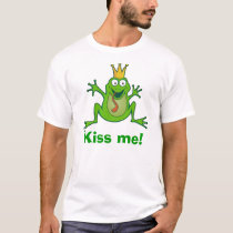 Prince frog, Kiss me! Basic T-Shirt
