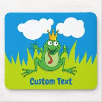 Prince Frog Mouse Pad