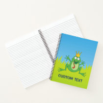 Prince frog notebook