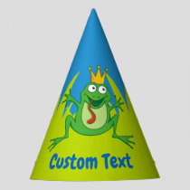 Prince frog party hat