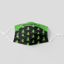 Prince Frog Pattern Adult Cloth Face Mask
