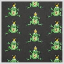Prince Frog Pattern Fabric
