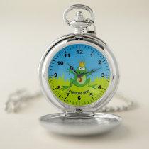 Prince Frog Pocket Watch