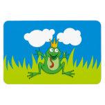 Prince Frog Rectangle Magnet