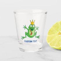Prince Frog Shot Glass