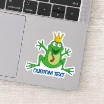 Prince Frog Sticker