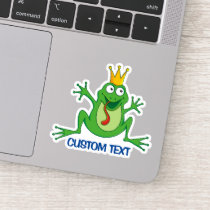 Prince Frog Sticker