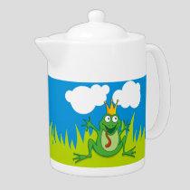 Prince Frog Teapot