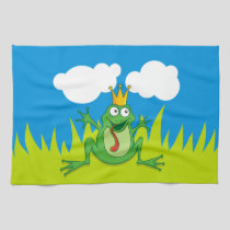 Prince Frog Towel