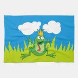 Prince Frog Towels