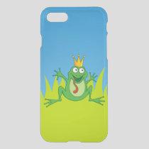 Prince frog iPhone SE/8/7 case