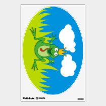 Prince Frog Wall Decal