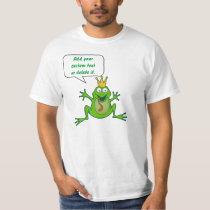 Prince frog with custom text T-Shirt