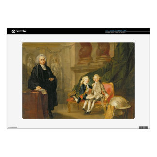"""Prince George (1738-1820) and Prince Edward August Decal For 15"""" Laptop"""