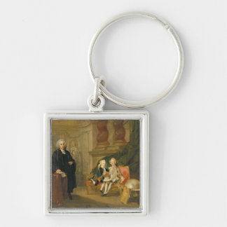 Prince George (1738-1820) and Prince Edward August Key Chains