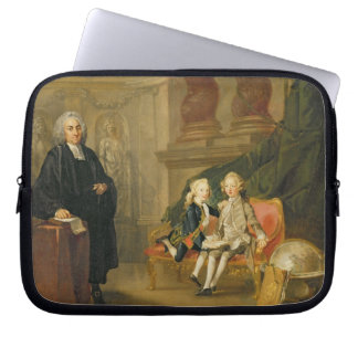 Prince George (1738-1820) and Prince Edward August Computer Sleeve