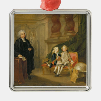 Prince George (1738-1820) and Prince Edward August Metal Ornament