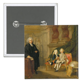Prince George (1738-1820) and Prince Edward August Pinback Button