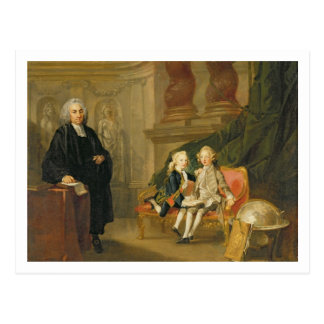 Prince George (1738-1820) and Prince Edward August Postcard