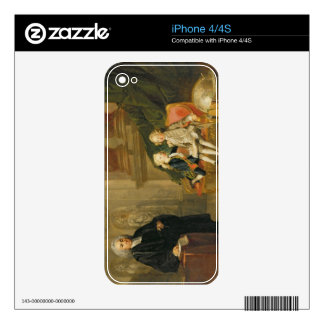 Prince George (1738-1820) and Prince Edward August Skins For iPhone 4S