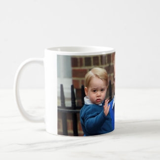 Prince George and Prince William Coffee Mug