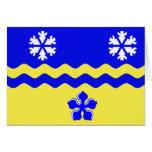 Prince George, Bc flag Greeting Card