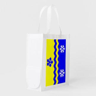 PRINCE GEORGE Flag Reusable Grocery Bag