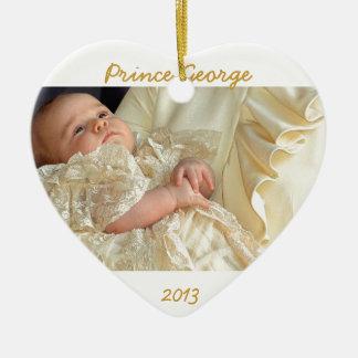 Prince George Heart Ornament