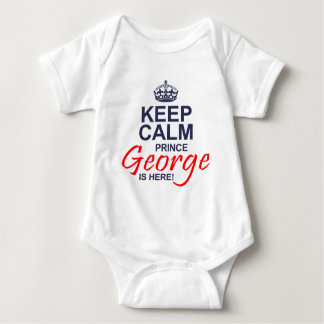 Prince George is Here Baby Bodysuit