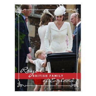 Prince George - Kate Middleton Royal Family Postcard
