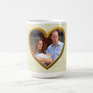 Prince George Classic White Coffee Mug