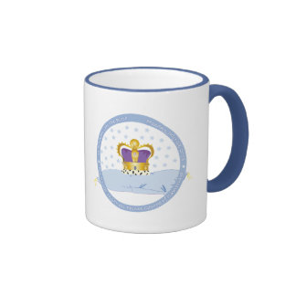 Prince George of Cambridge Pillow and Crown Ringer Mug