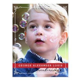 Prince George of Cambridge Postcard